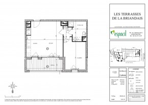 Plan de vente appartement 122