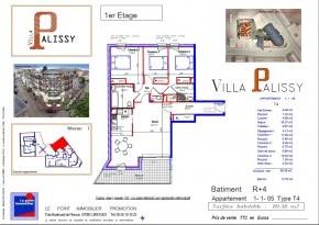 Plan de vente appartement Palissy 05 lot 1105.jpg
