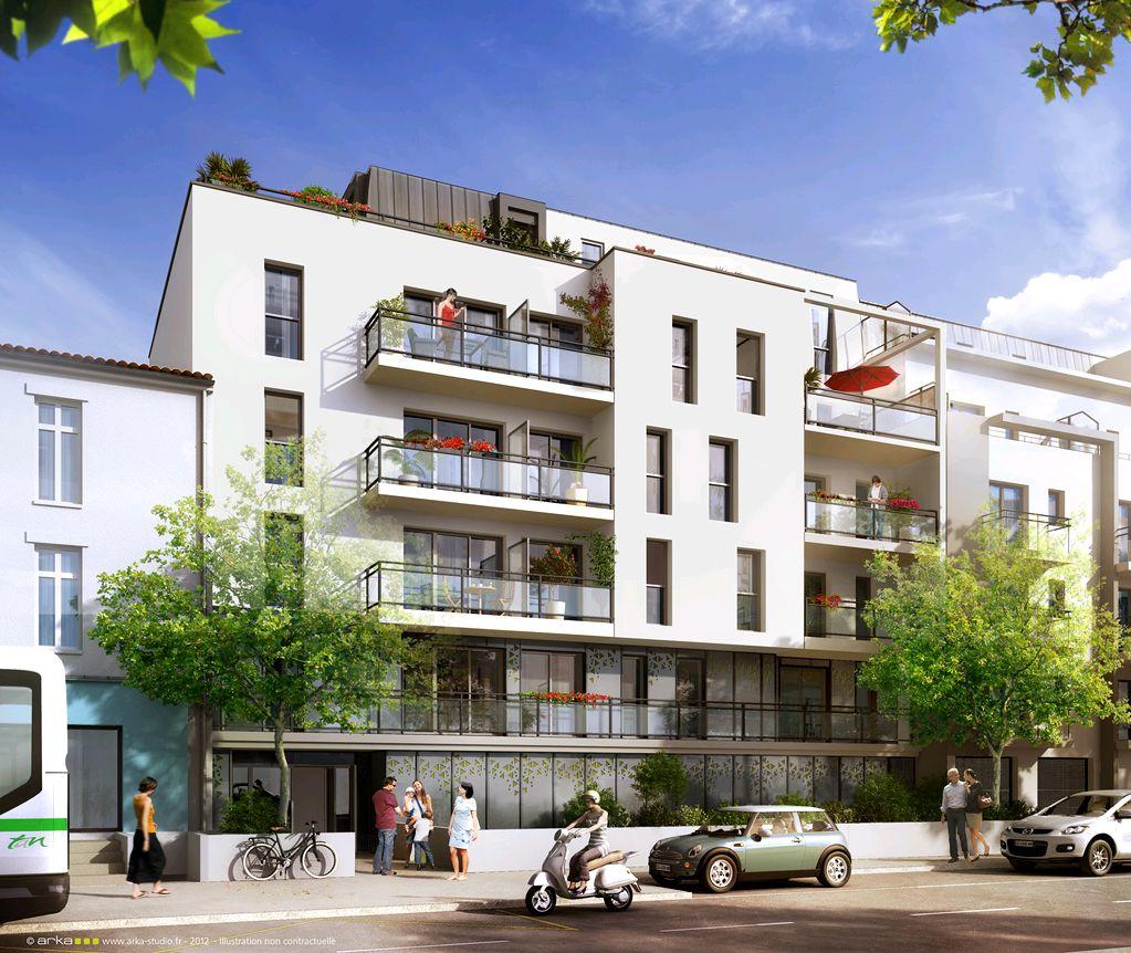 Appartement t3 villa onda nantes for Neuf appartement