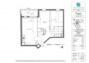 Plan de vente appartement T3 Nantes